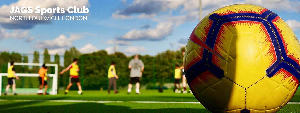 Play casual football game in North Dulwich London